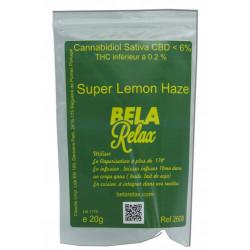 Super Lemon Haze sachet éco de Fleurs CBD