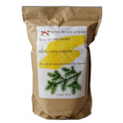 Karité - 1 kg de perles de cire à épiler, origine naturelle