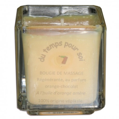 Bougie de massage orange chocolat 60 g